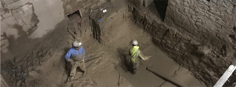 Hydro-Excavation of a Milwaukee Landmark