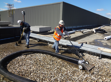 Rooftop Vacuum Services Great Lakes Power Vac Great